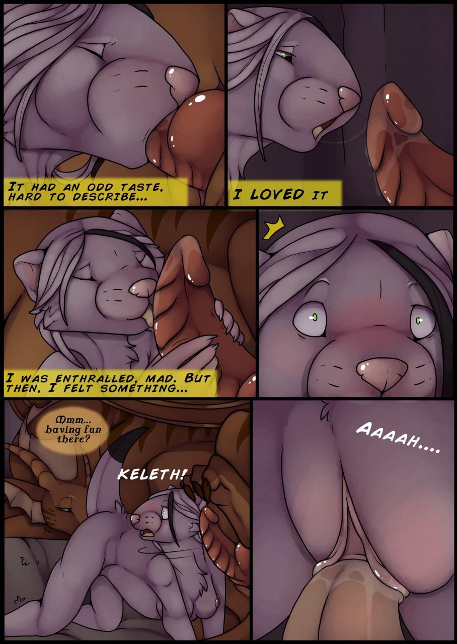 dragon rider furry comic