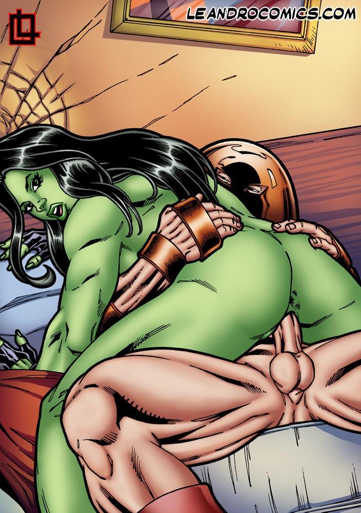 sexy she hulk boobs