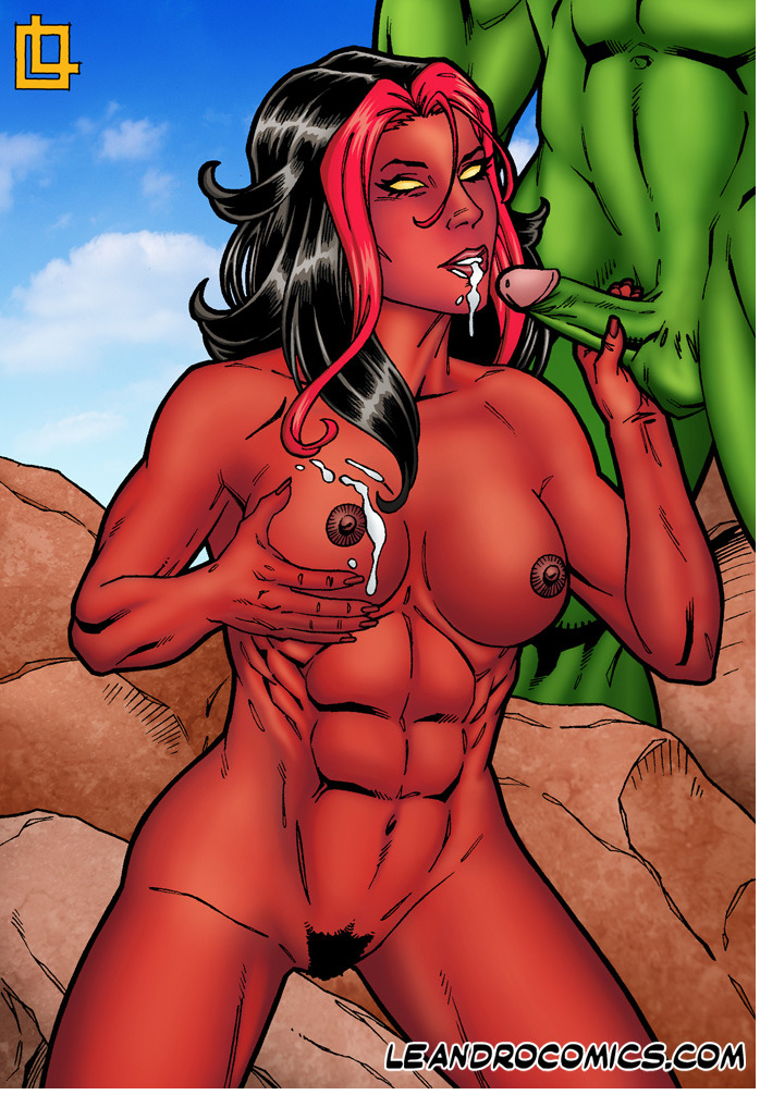 Hulk porn she marvel