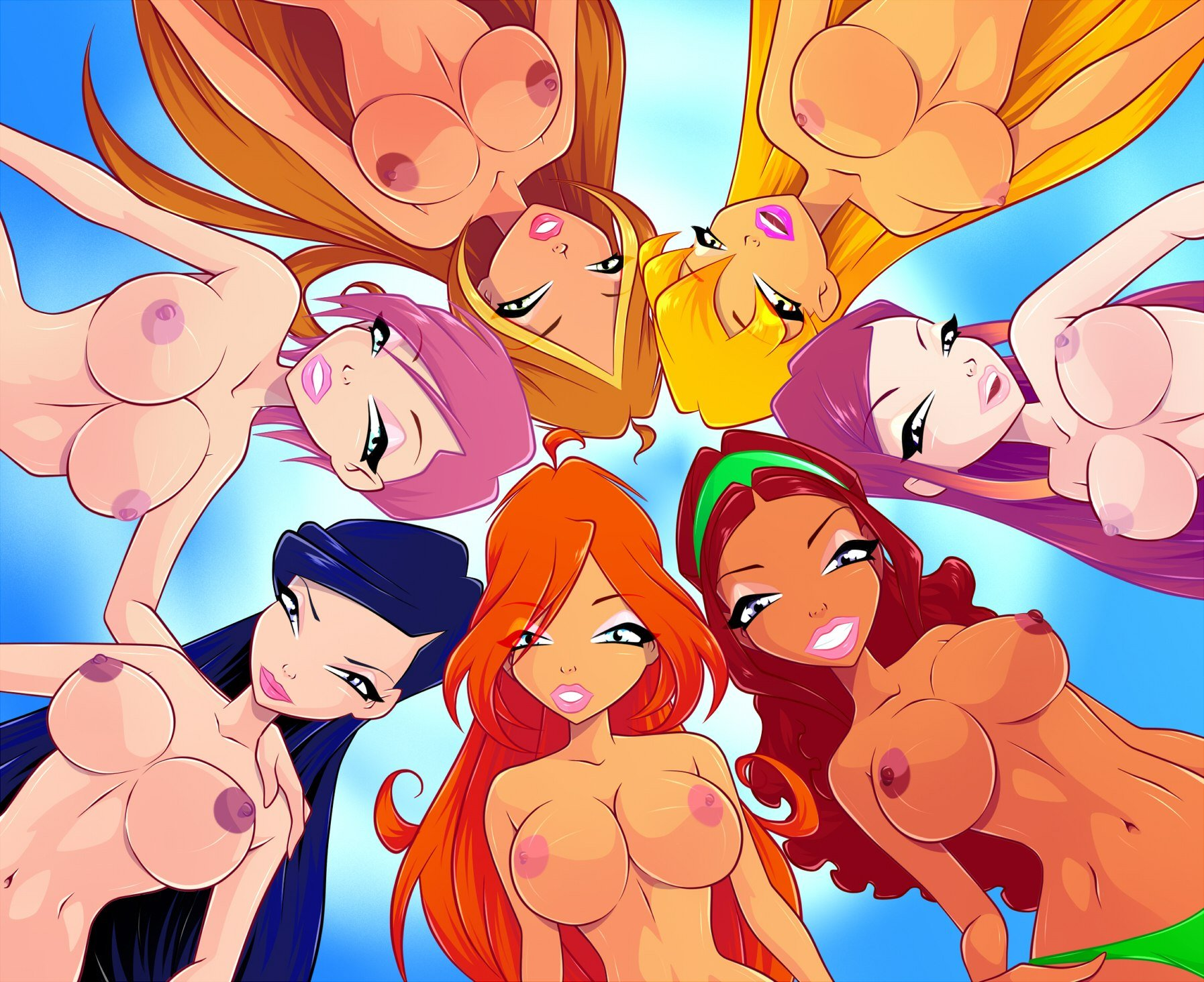 winx club boobs