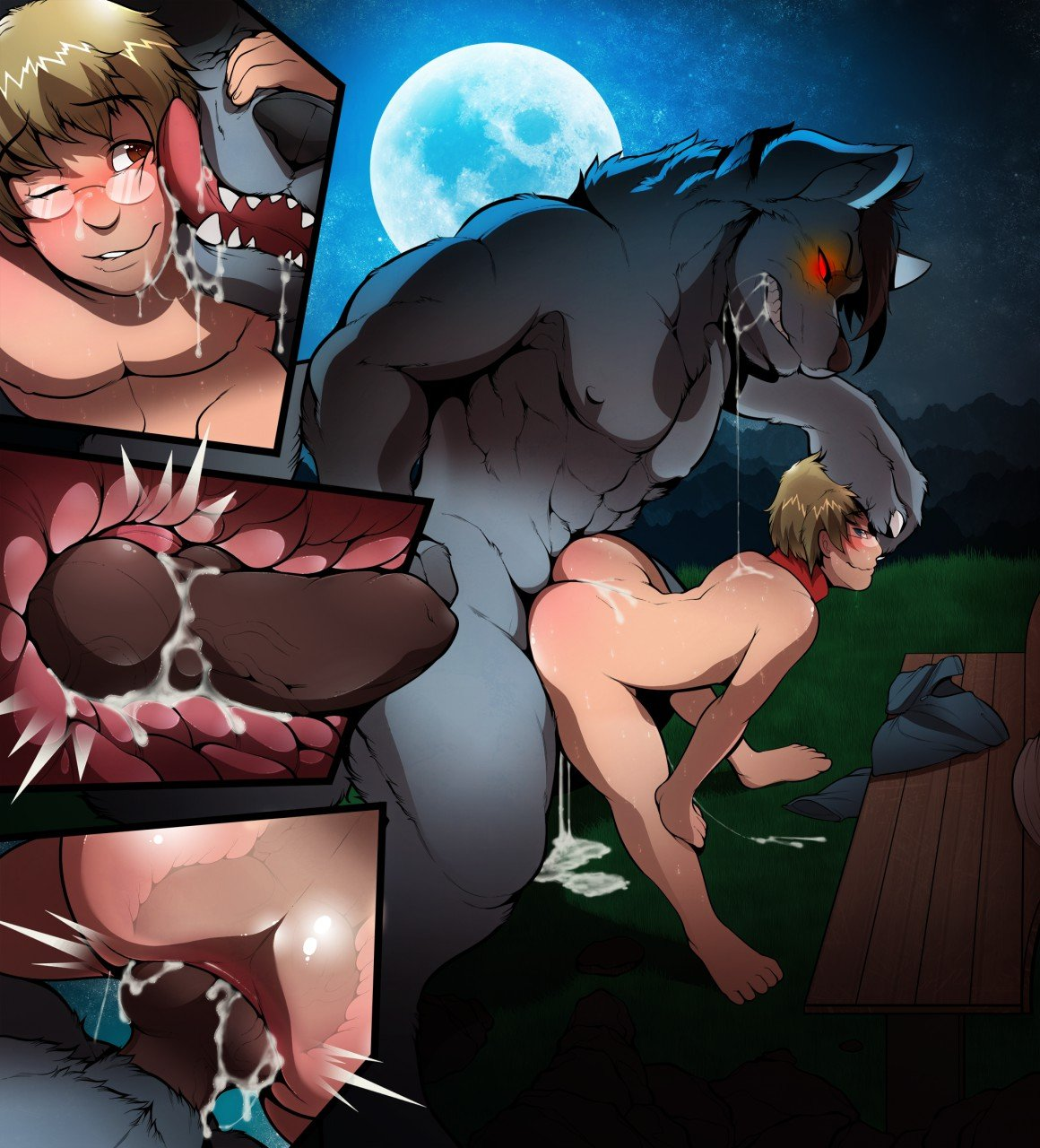 Porn cartoon with werewolves hentia tube