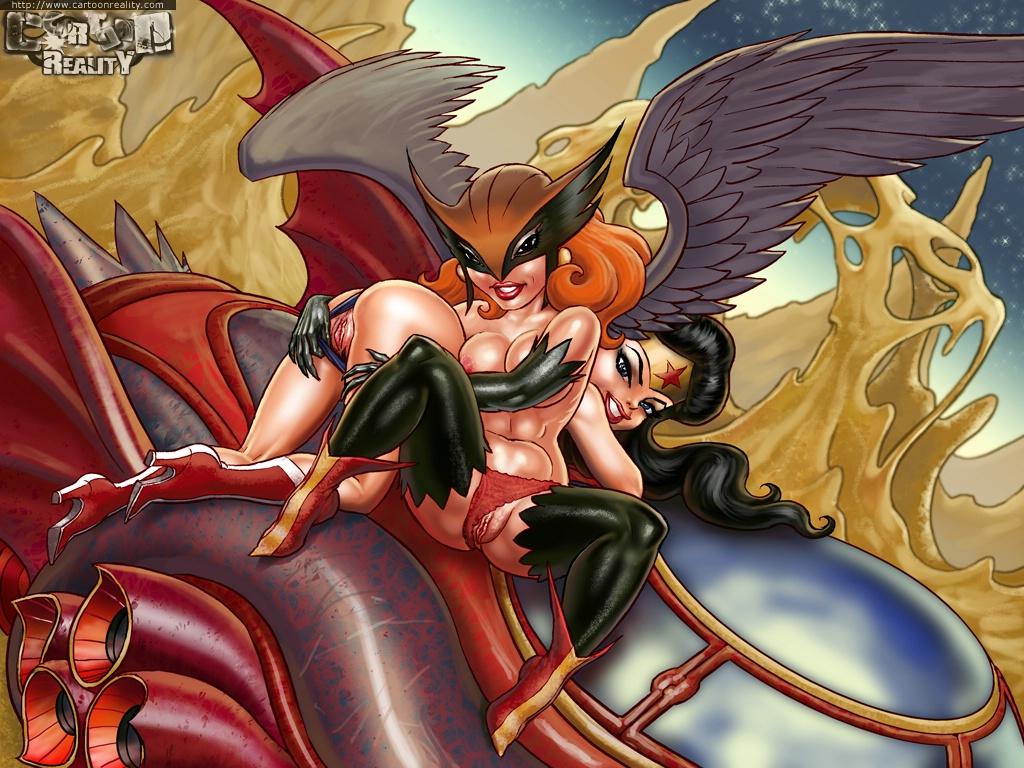 Wonder Woman Hawkgirl