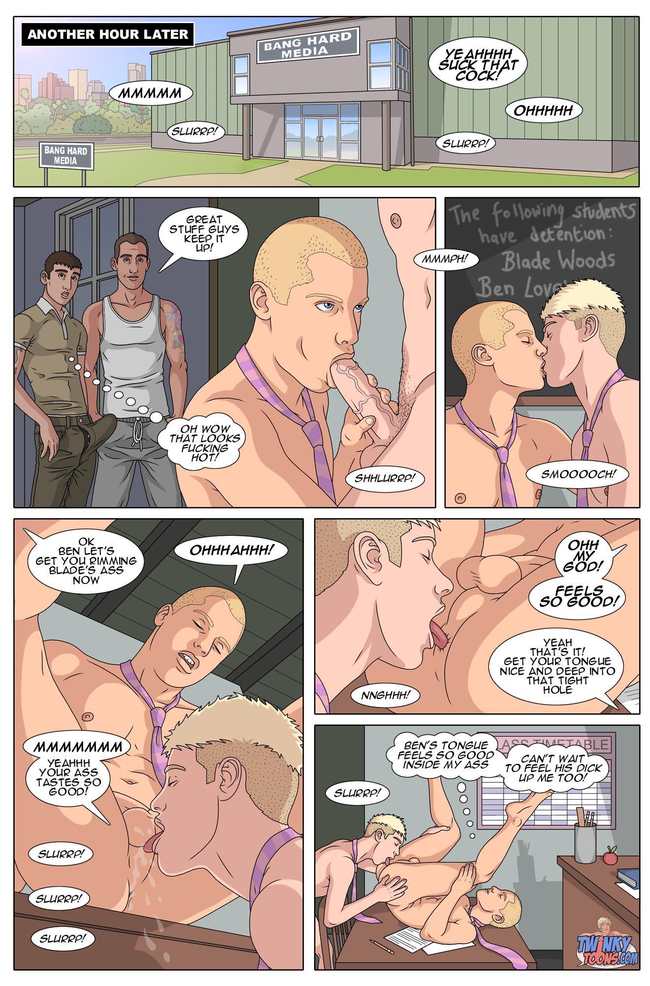 Hunk comics gay