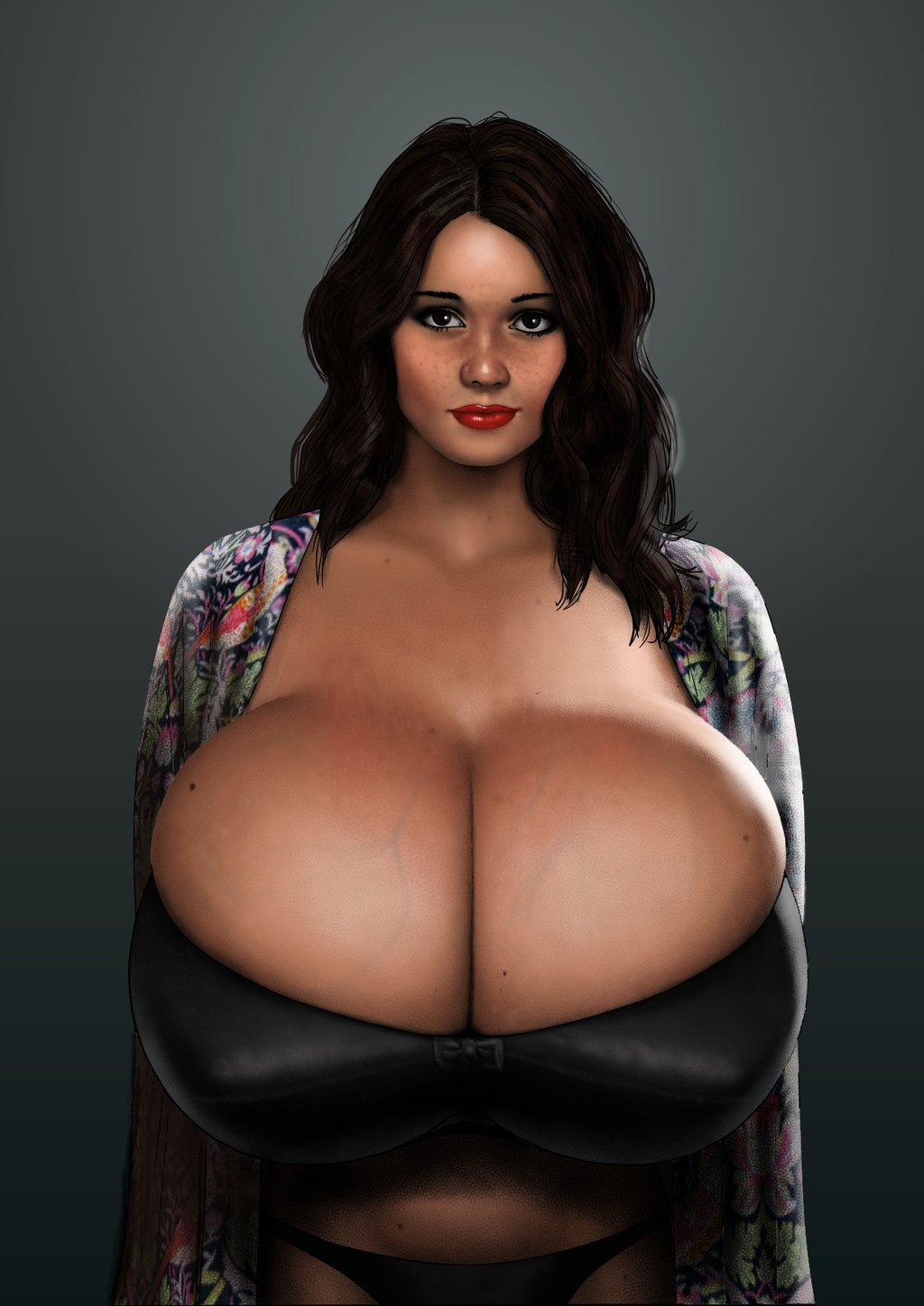 Make your breasts bigger in photoshop by drazzzv