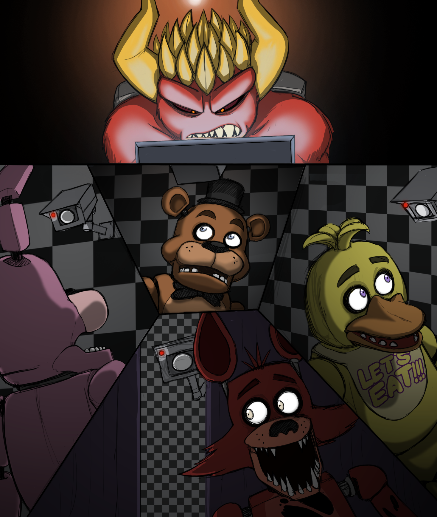 Five night at freddys porn