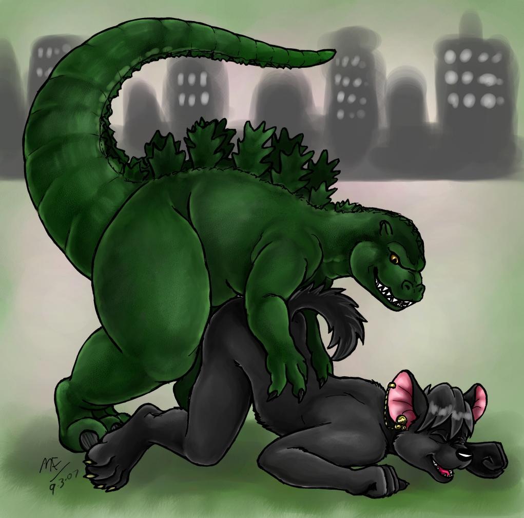 Godzilla porn