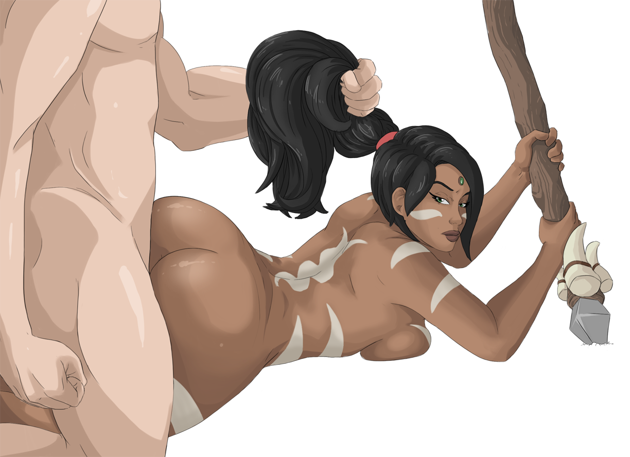 League of legends nidalee hentai