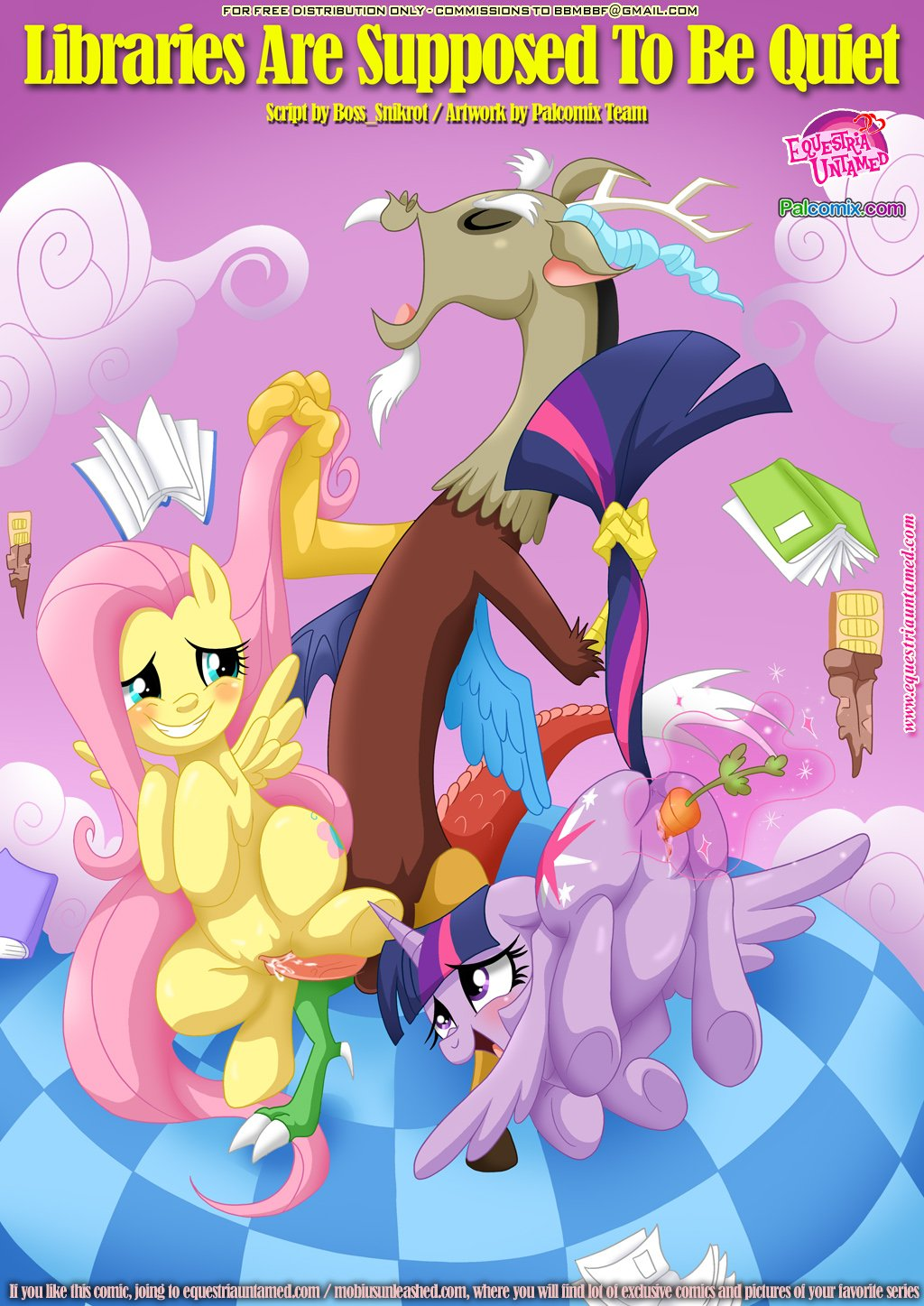 read libraries are supposed to be quiet my little pony