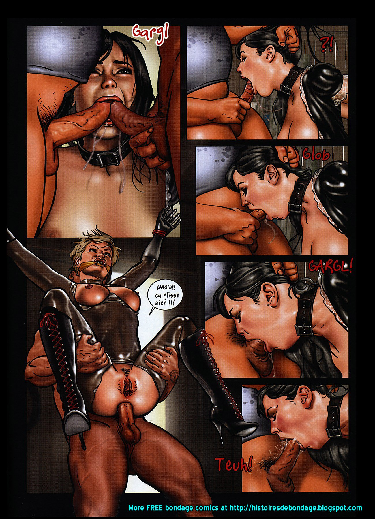 Gay latex bdsm porn