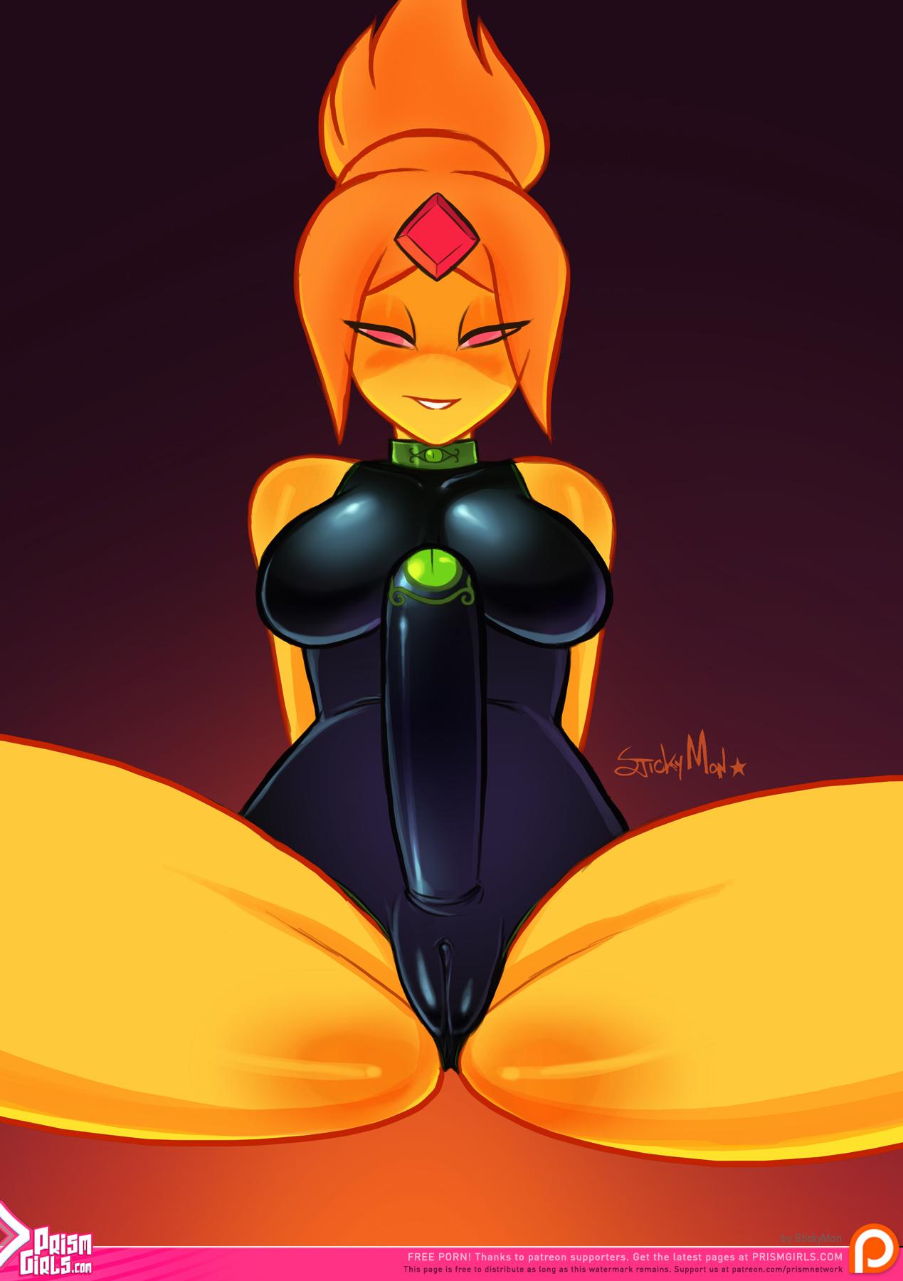 Fire girl porn