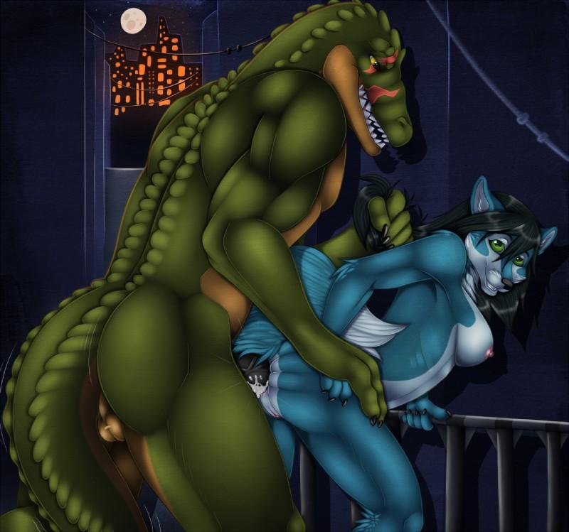 рептилиями с фурри порно аниме