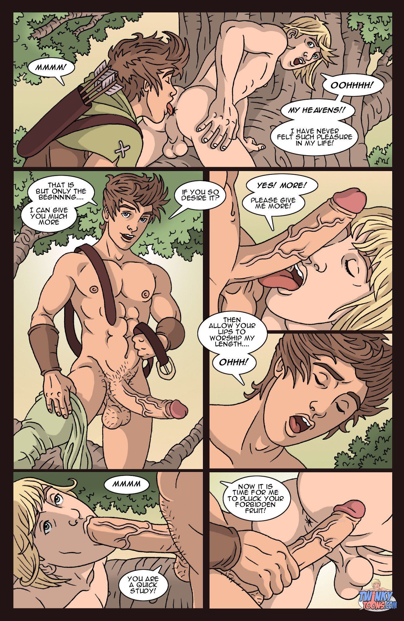 comics robin hood gay sex