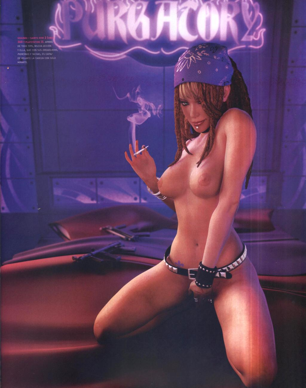 Saints row 4 shaundi porn