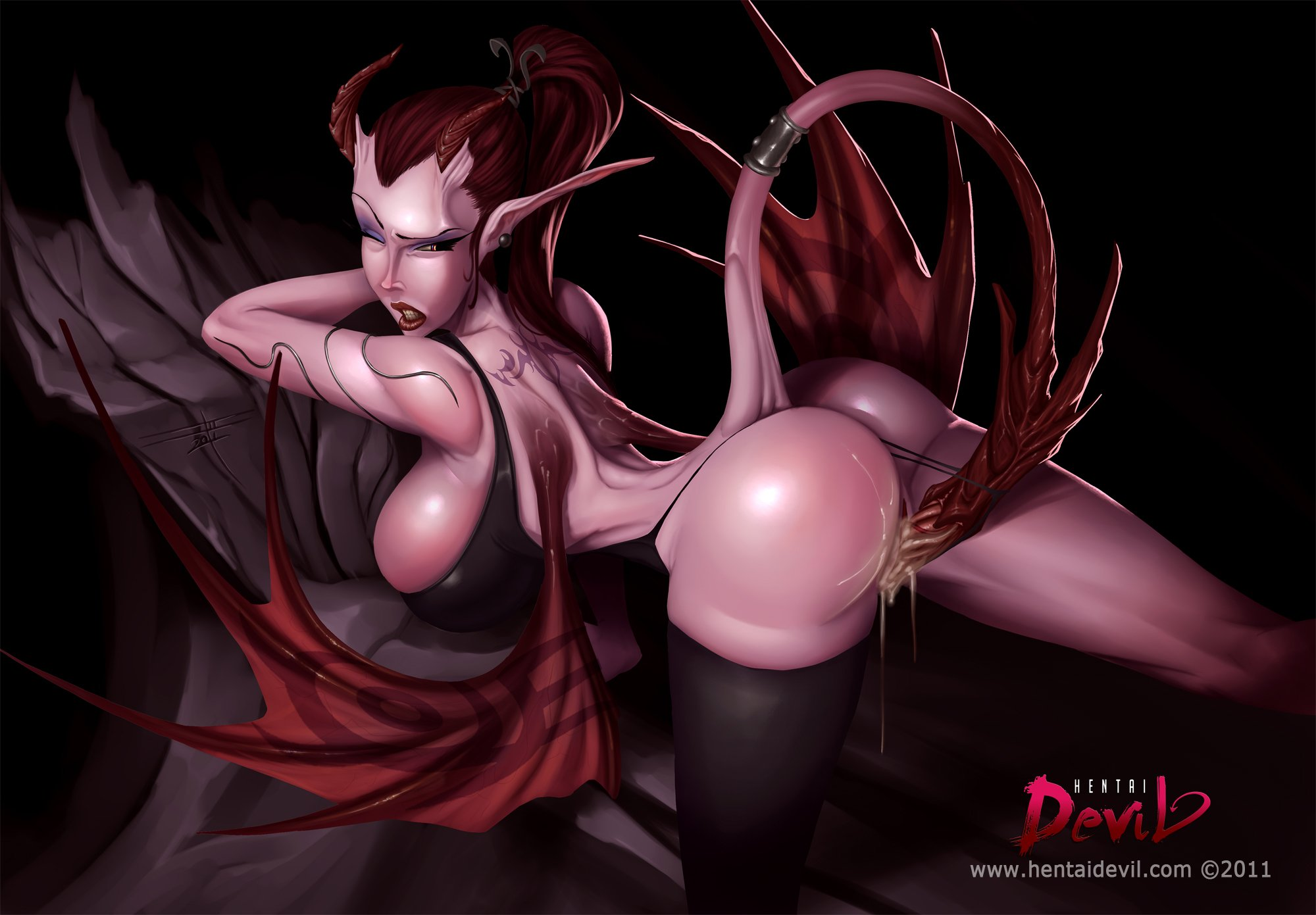 Animated nude devil girl sexy images