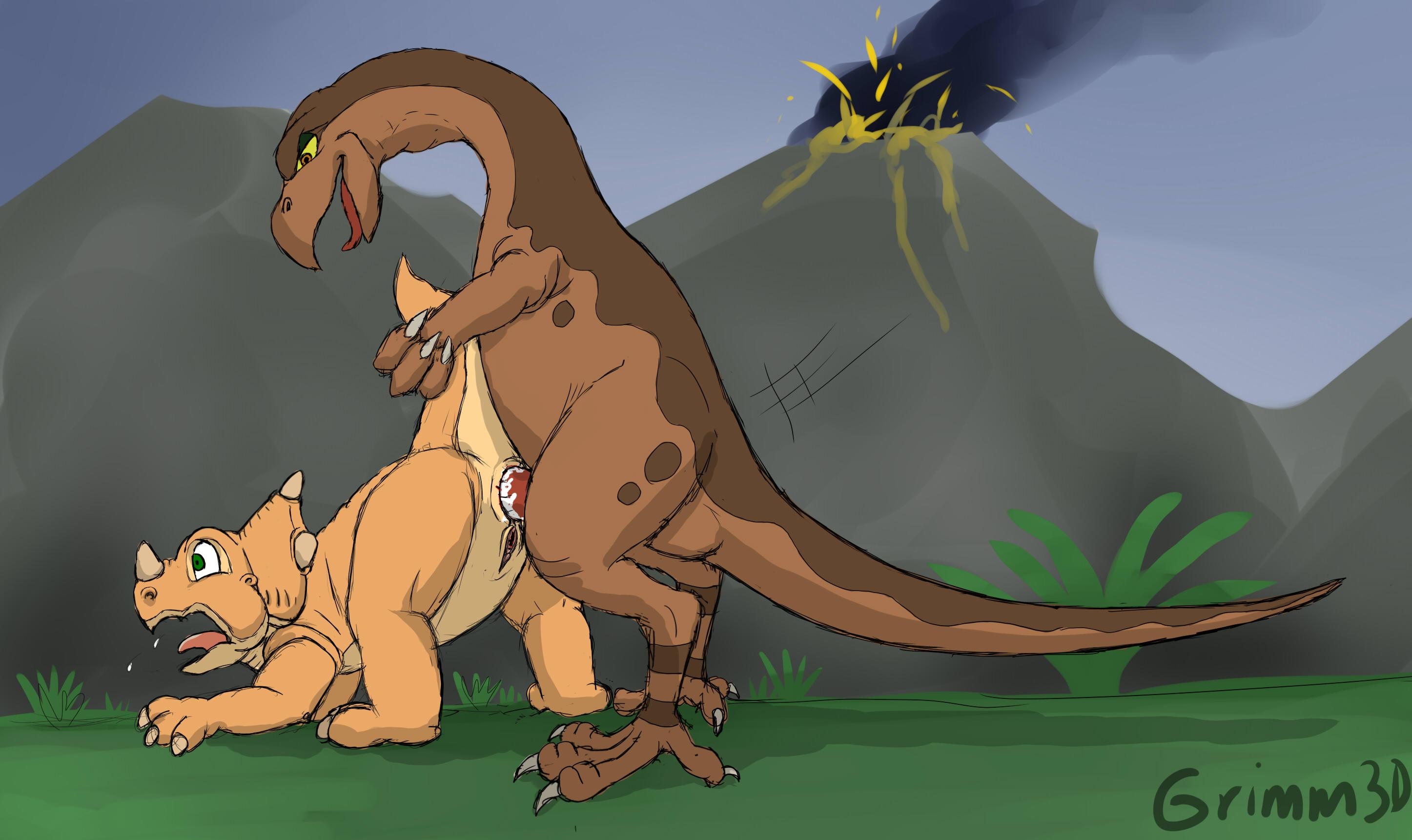 Аниме хентай динозавры картинки