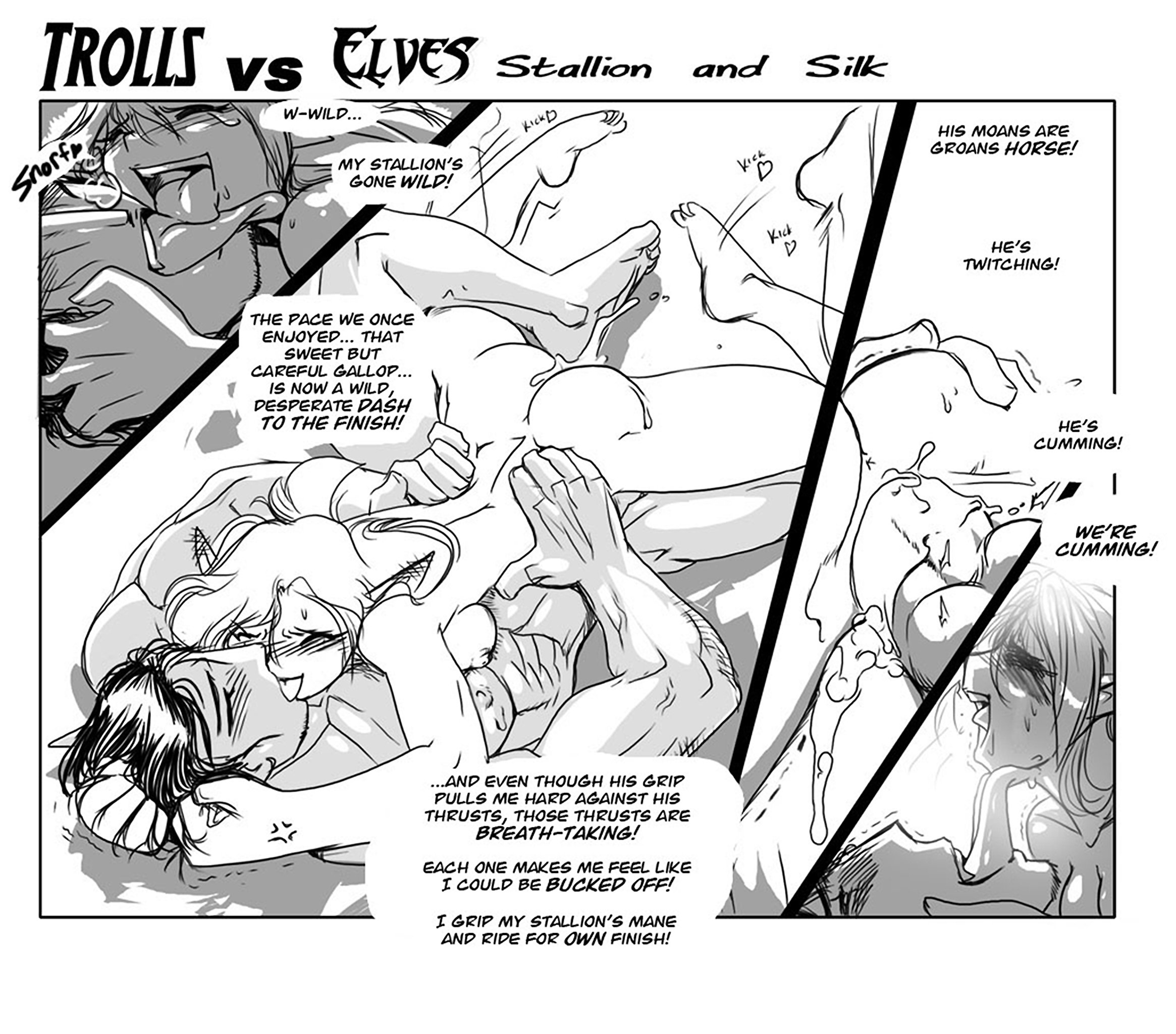 Elves Vs Trolls Hentai