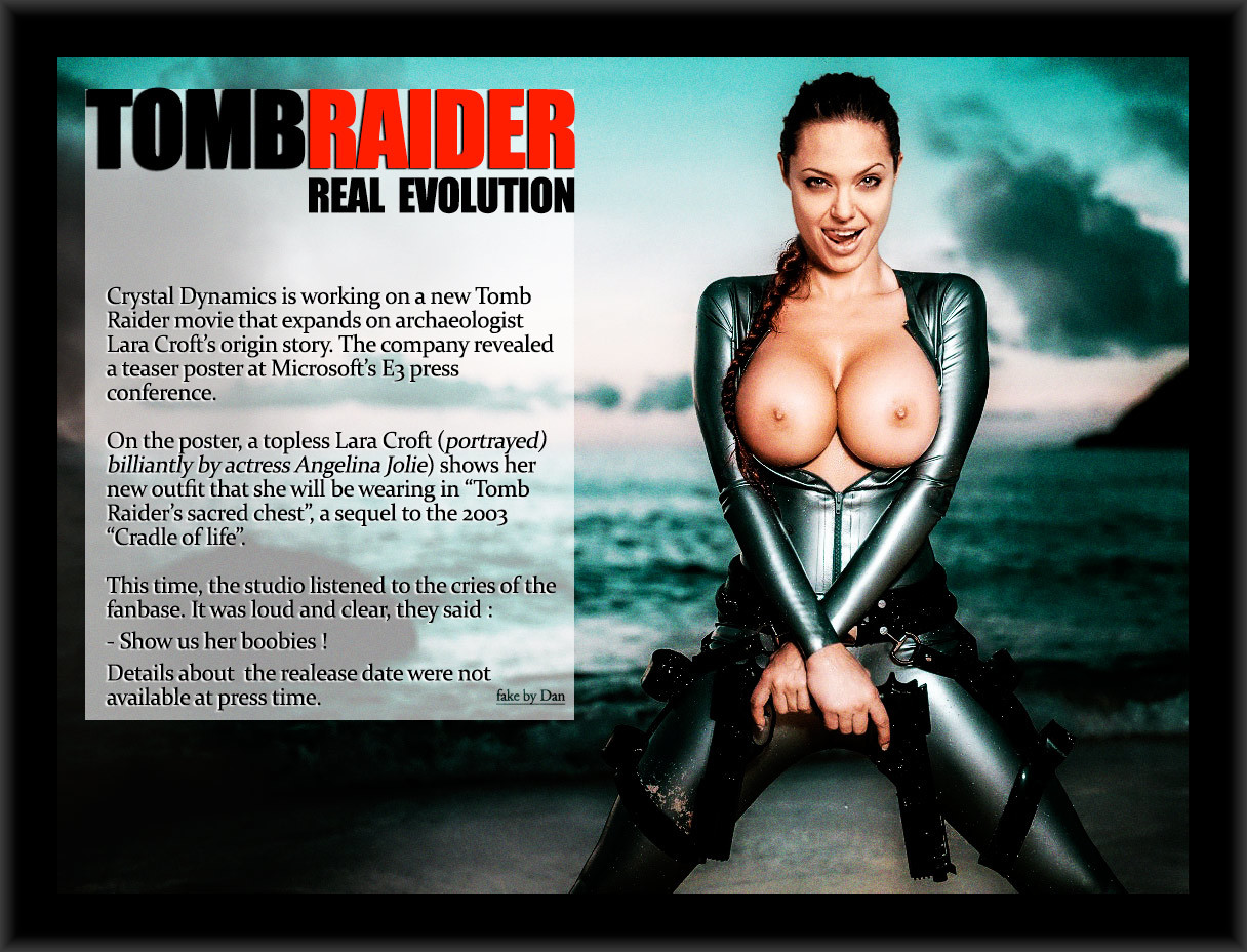 Tomb raider fake porn erotic scenes