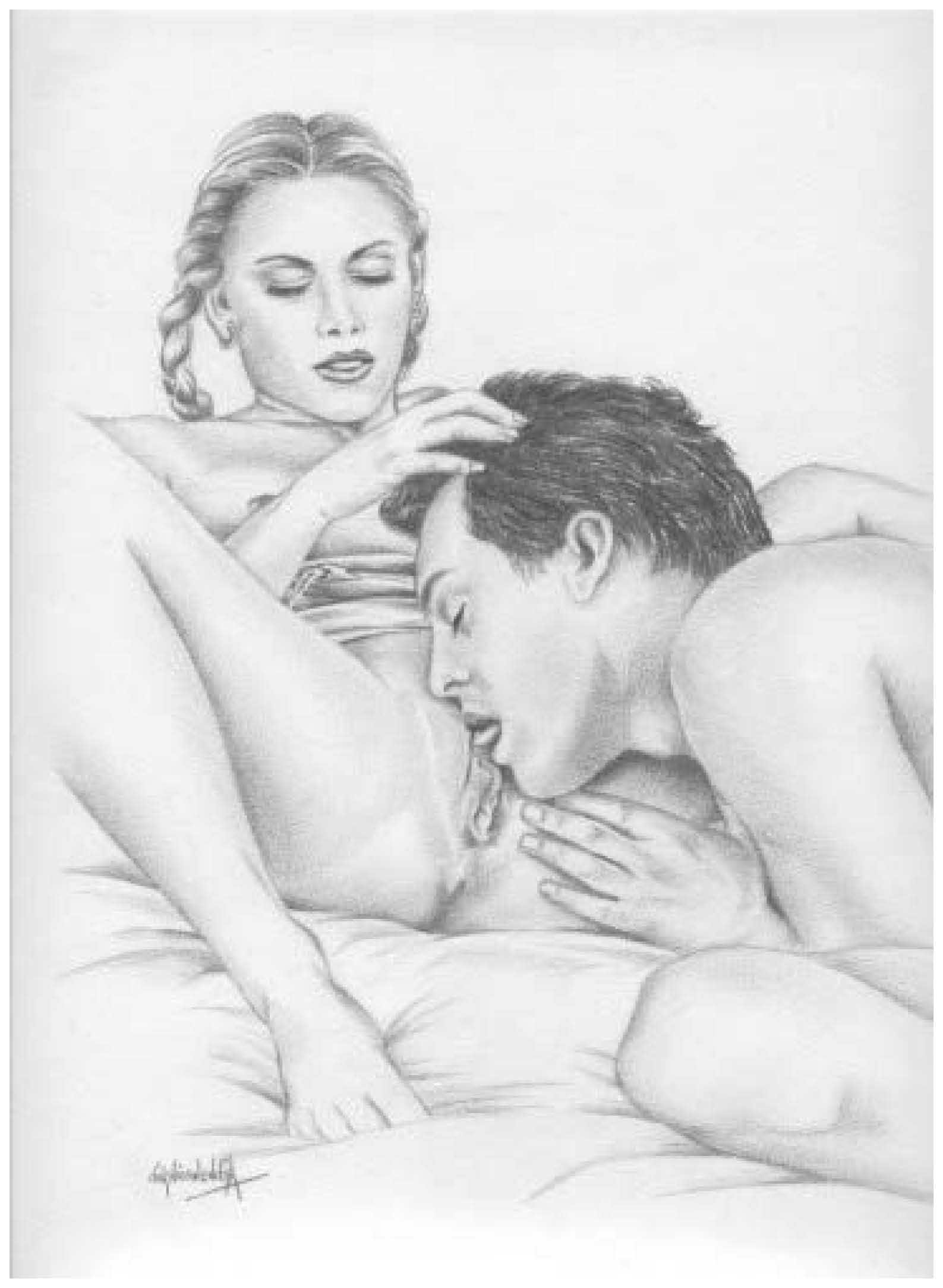Licking pussy drawings erotic gallery