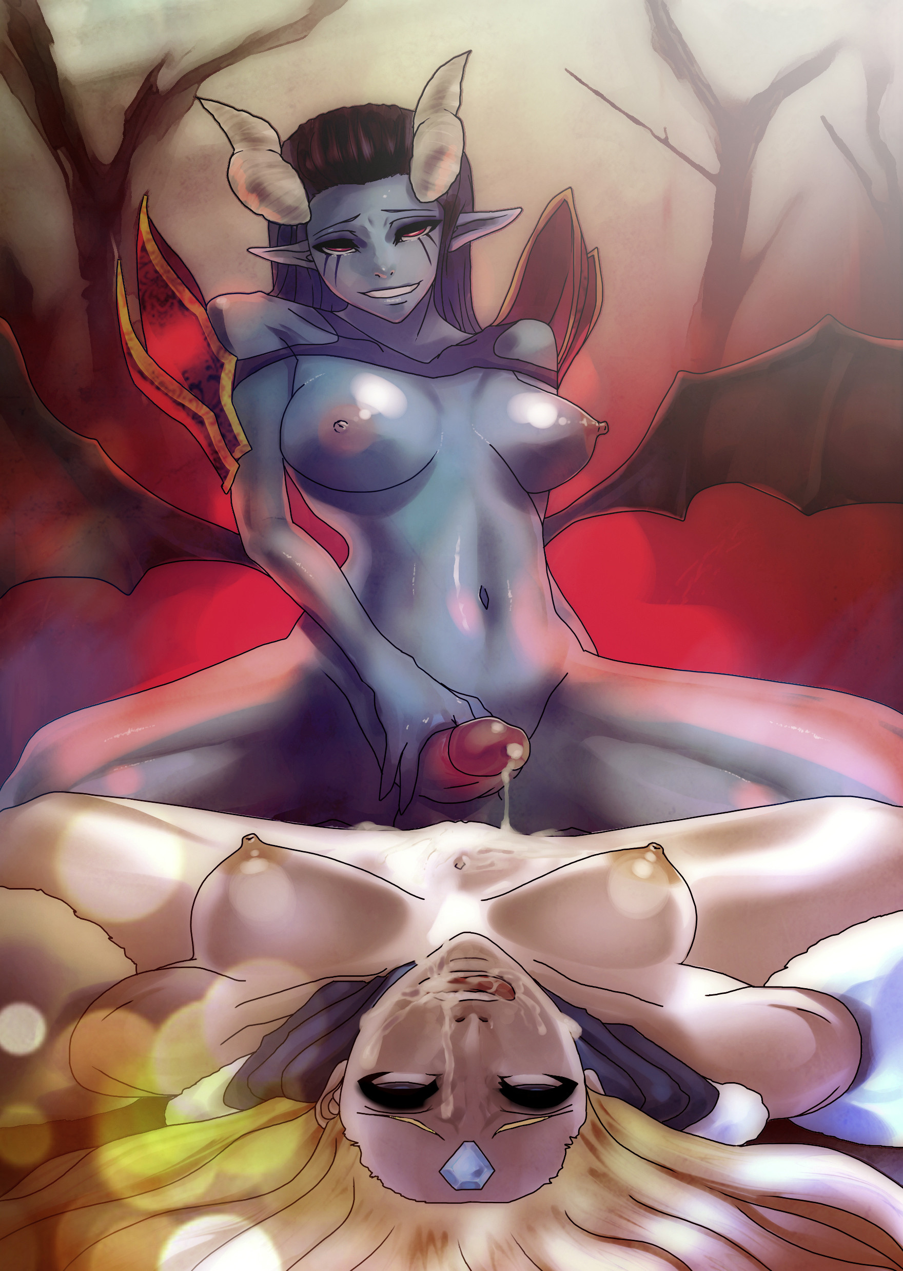 Naked dota female character hentai erotic pic