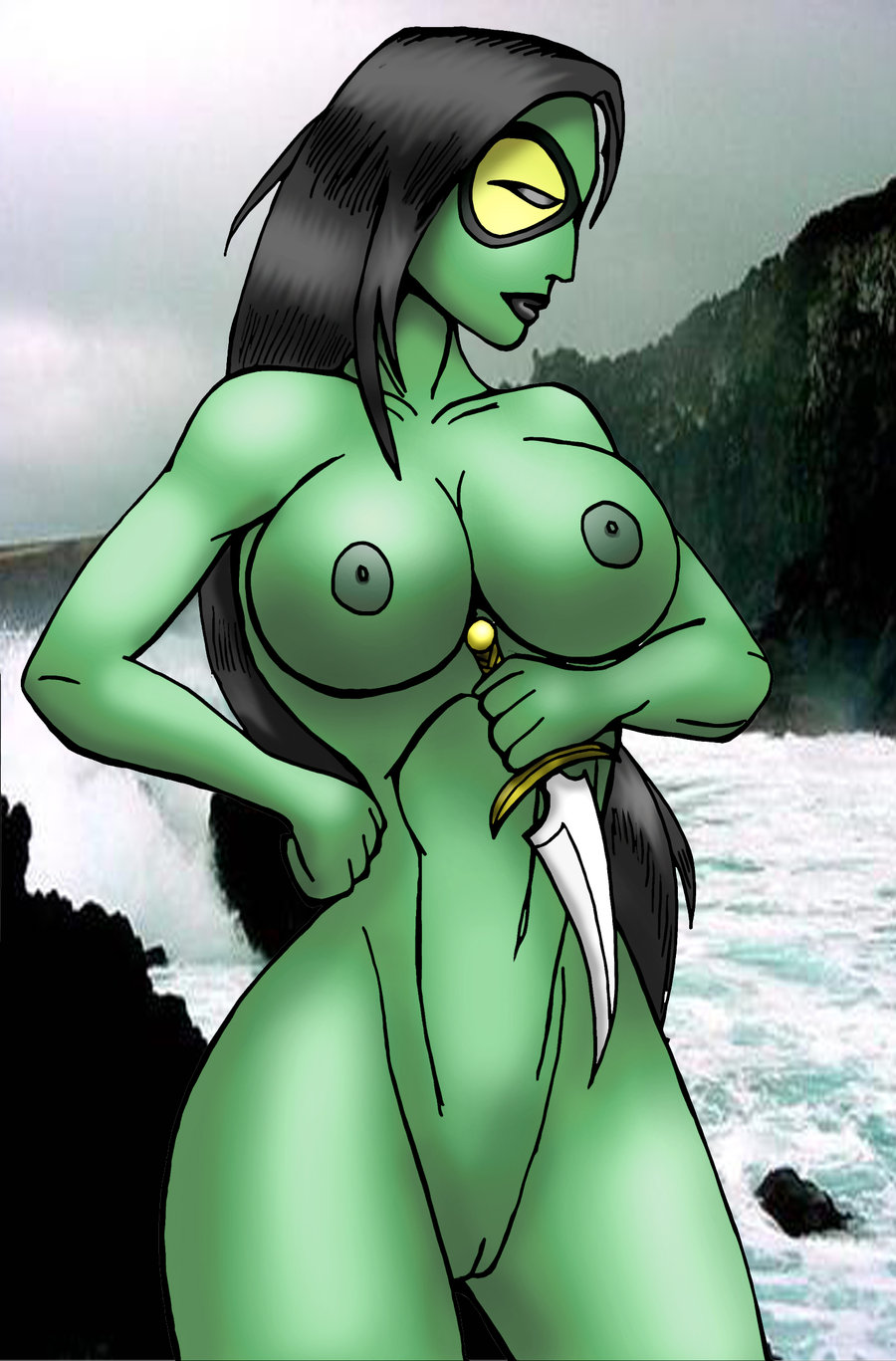 View Gamora - Guardians of the Galaxy (Marvel) Hentai ...