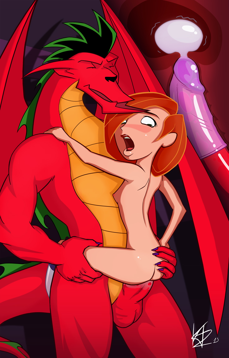 Porn american dragon pain night cameltoe