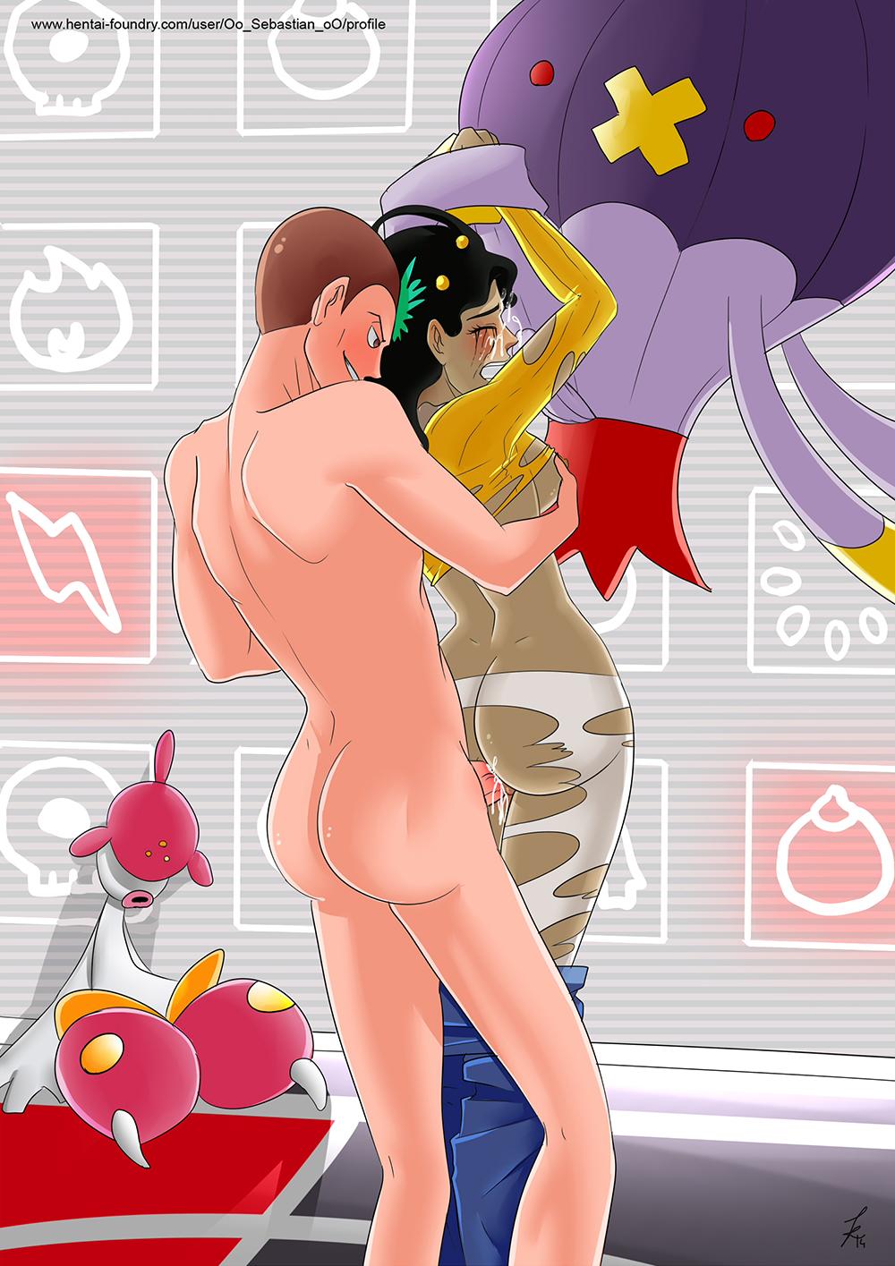 naked pokemon gym leaders girls