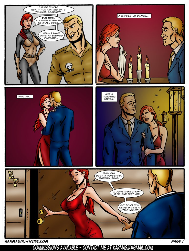 [Karmagik] Subjugating Scarlett (G.I.Joe)