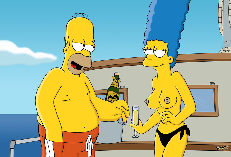 Naked pictures of the women from the simpsons — pic 7