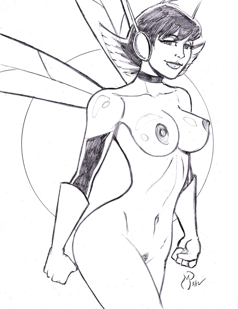 Wasp Nude