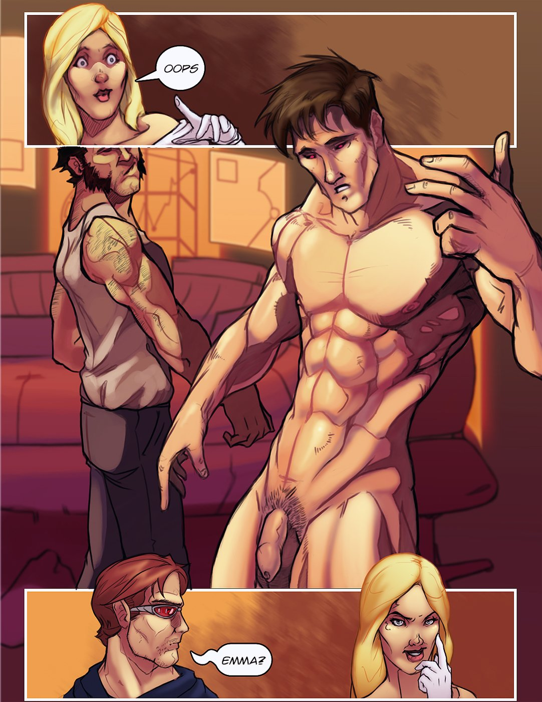 Gambit and rogue porn pics hentai pic