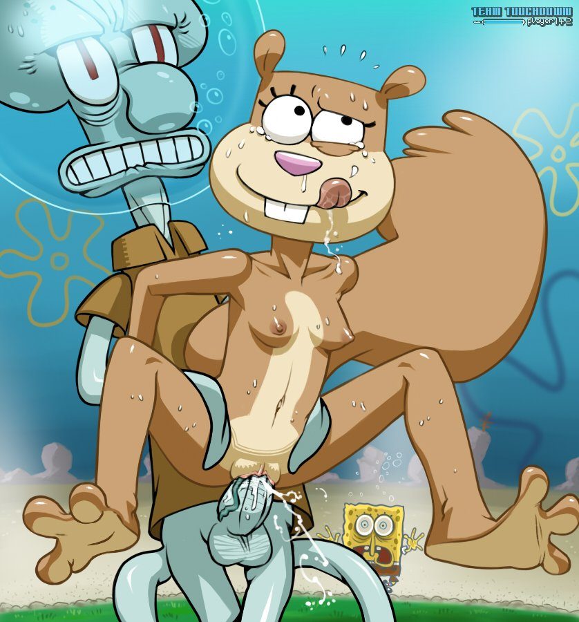 sandy cheeks naked porn