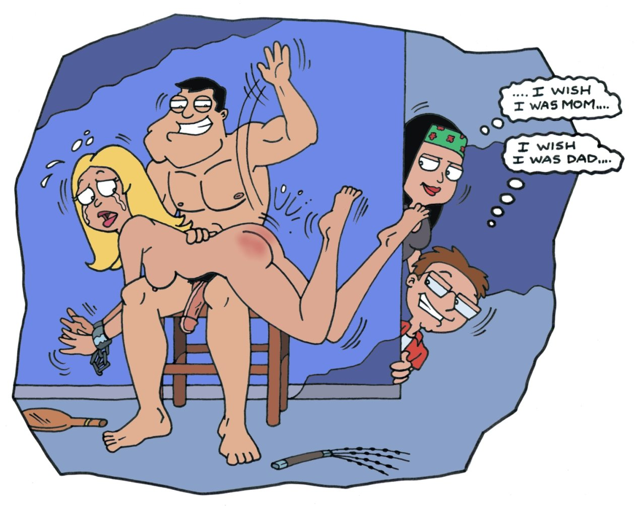 Cartoon Spanking Porn
