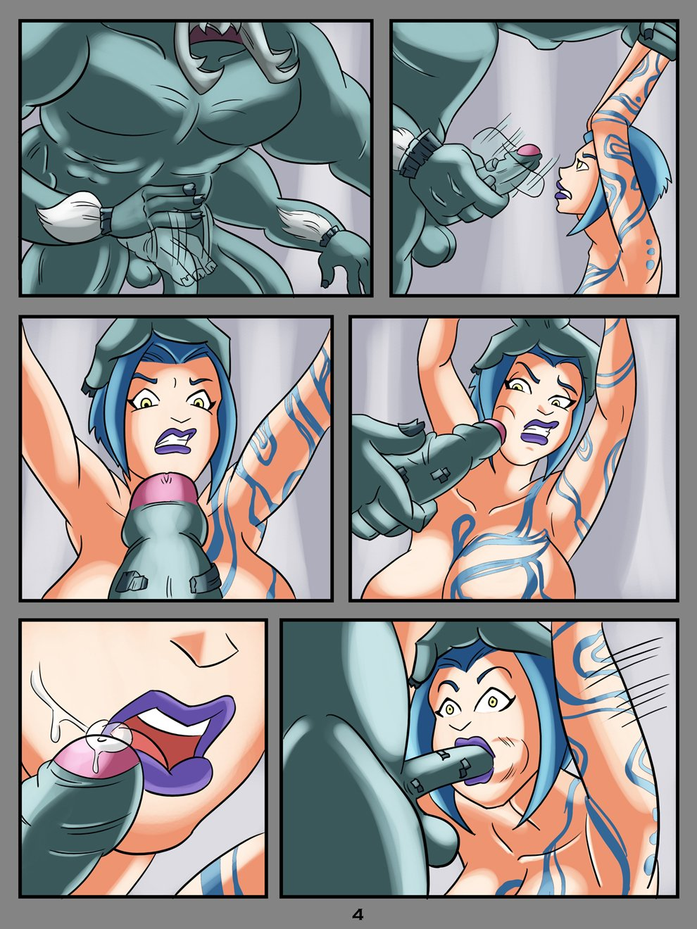 borderlands porn comic