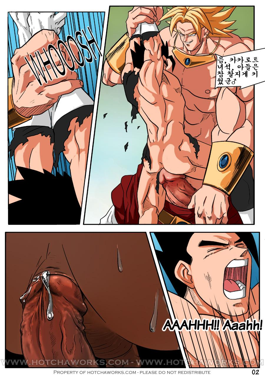 dragon ball z gay porn comics