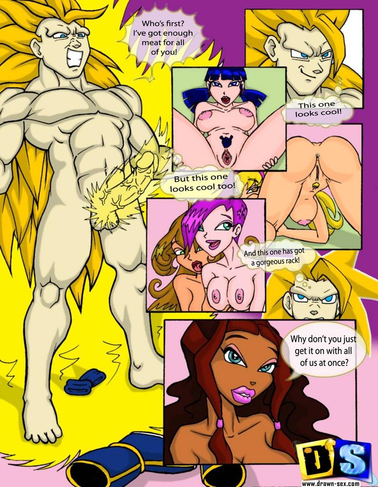 Комикс винкс секс
