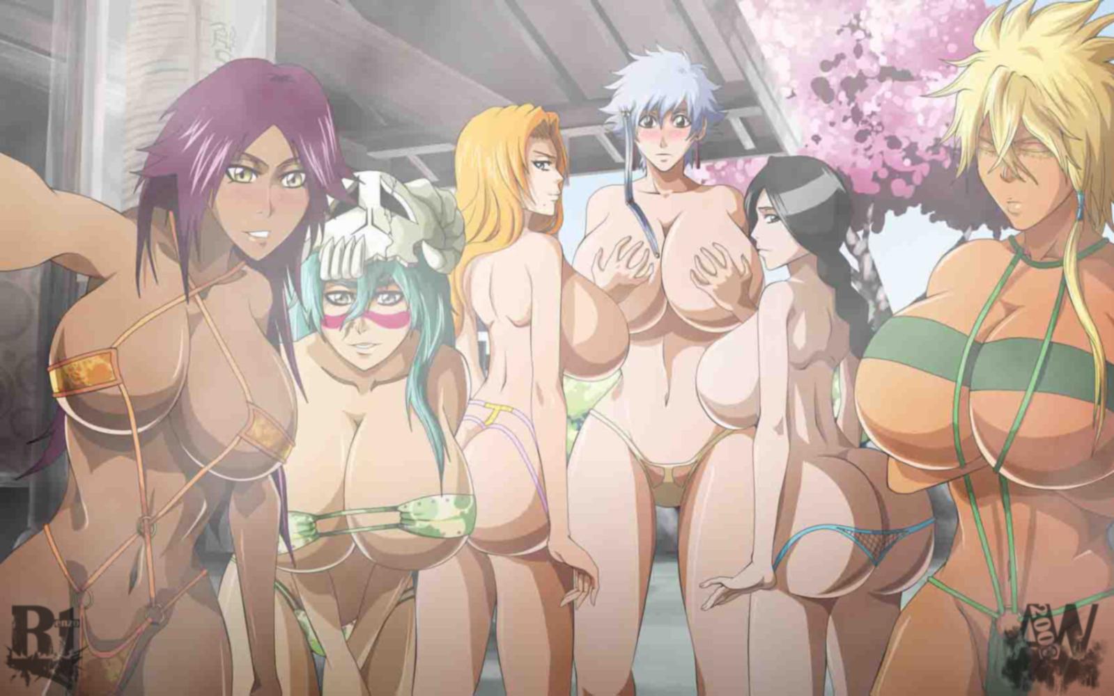 Bleach hentai wallpaper
