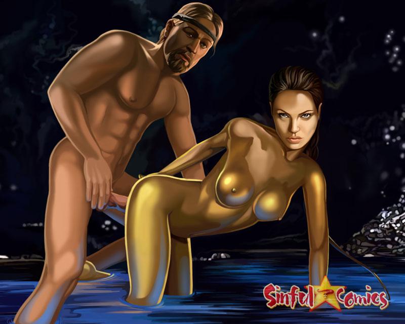 Беовульф в порно, худенькая длинноногая сосет и в попку
