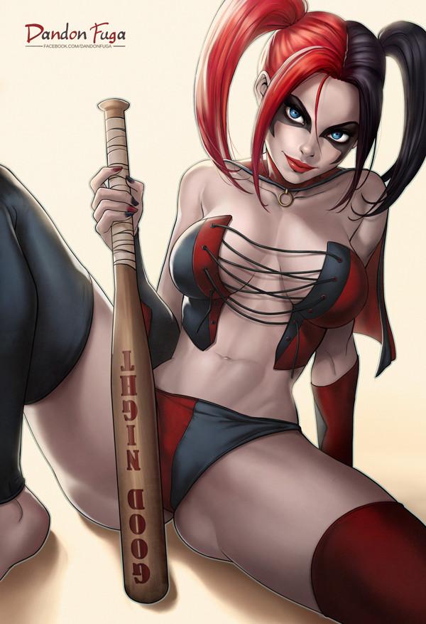 Harley Quinn nude Hentai Online porn manga and Doujinshi