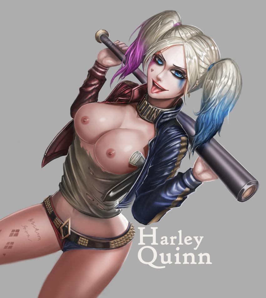 harley quinn nude