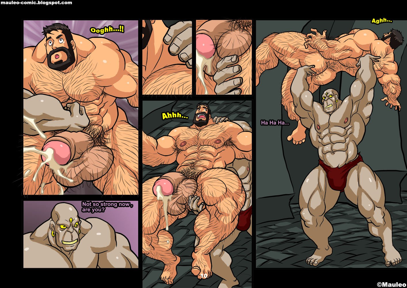 Muscle gay sex comic — pic 12