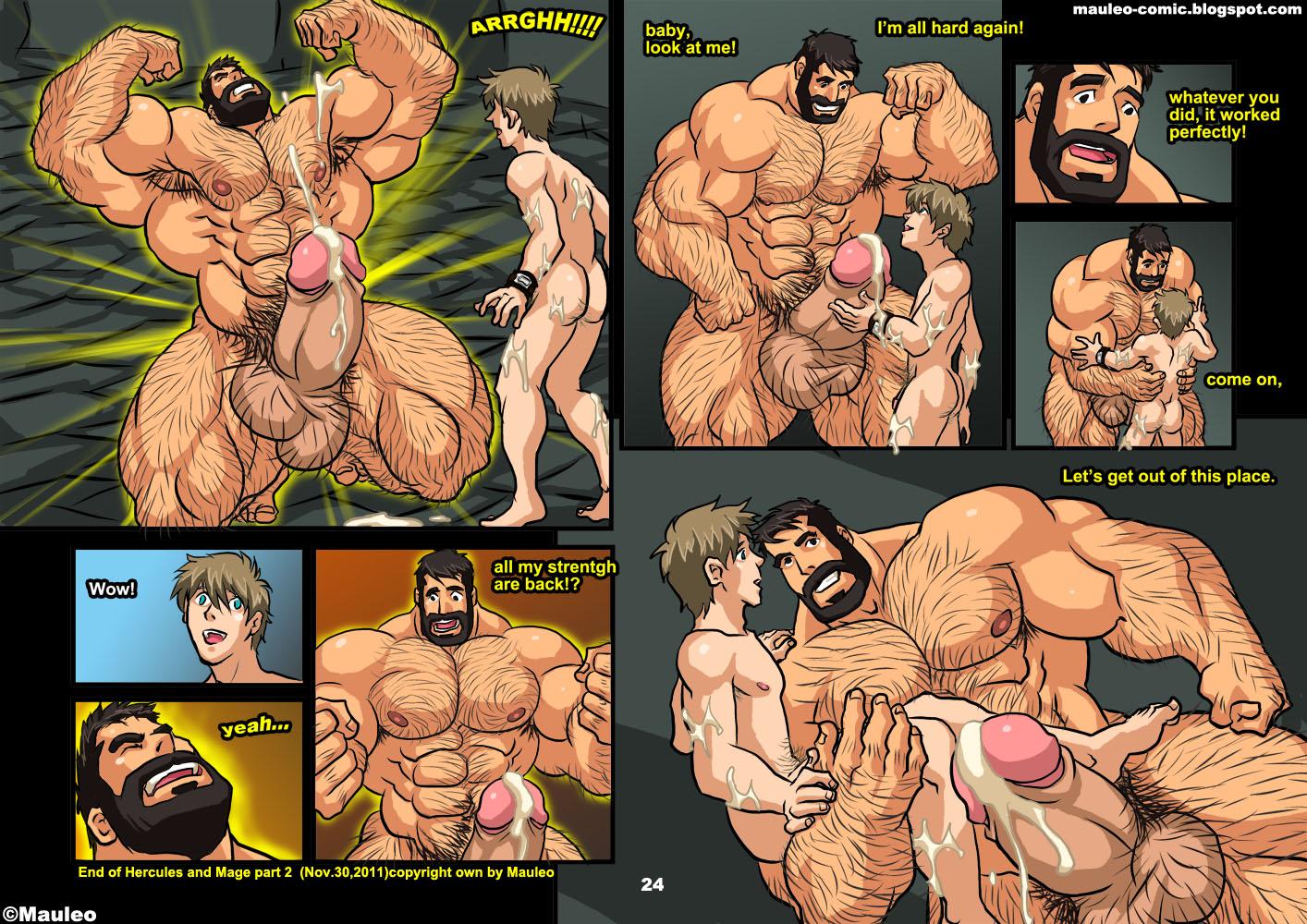 gay muscle yaoi sex comic