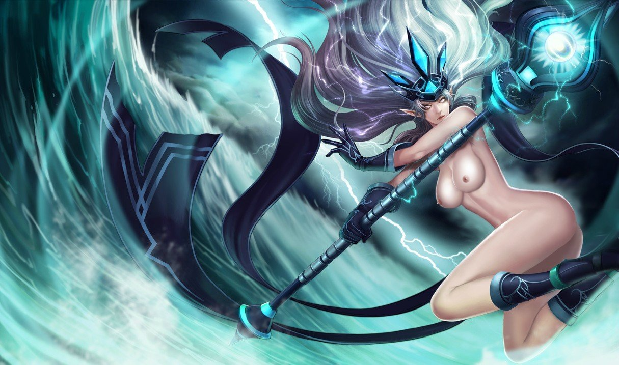 league of legends nude