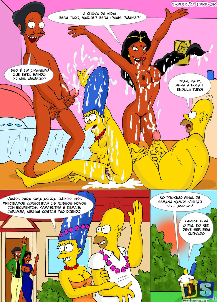 Simpsons naked sex