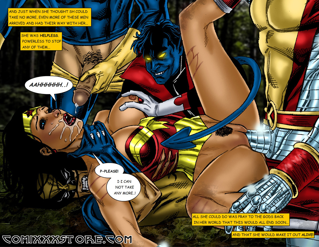 sexy naked super heroine