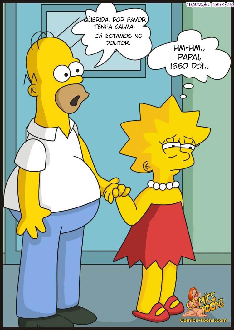 Porno Junge Comic Simpson