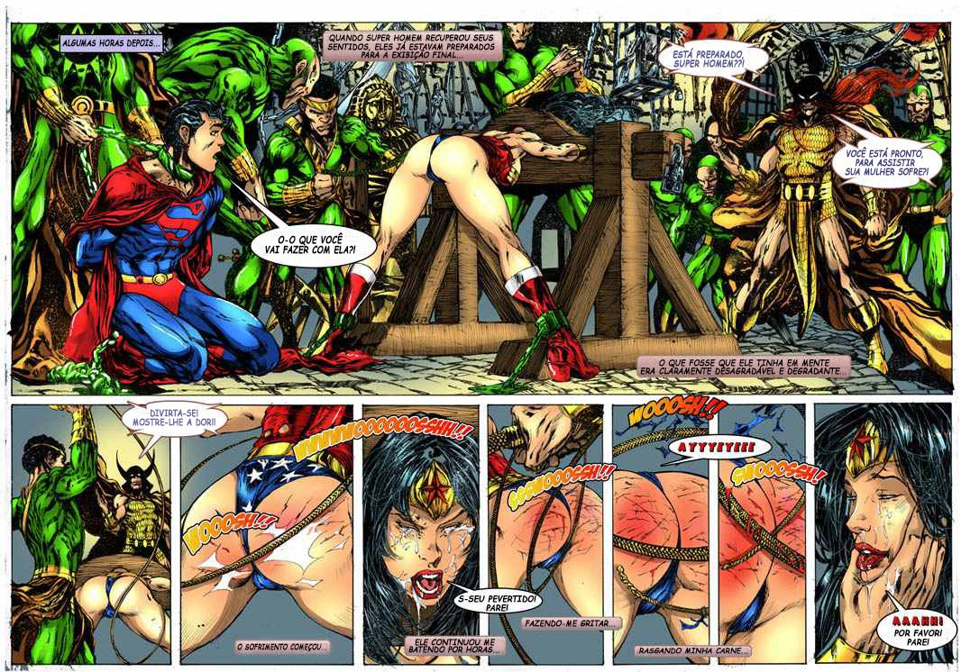 Wonder Woman vs Warlord - Brazilian Portuguese Hentai ...