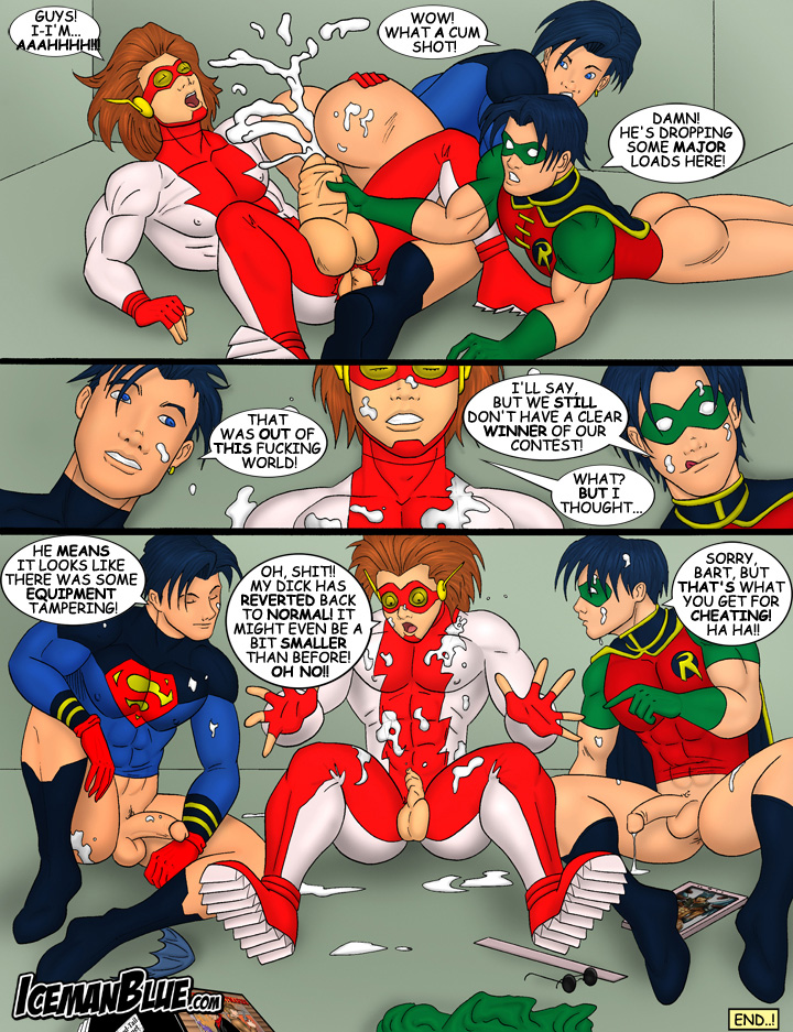 young justice porn