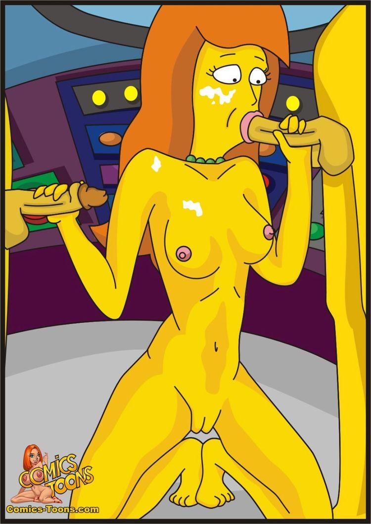 Marge simpson mature sexwife