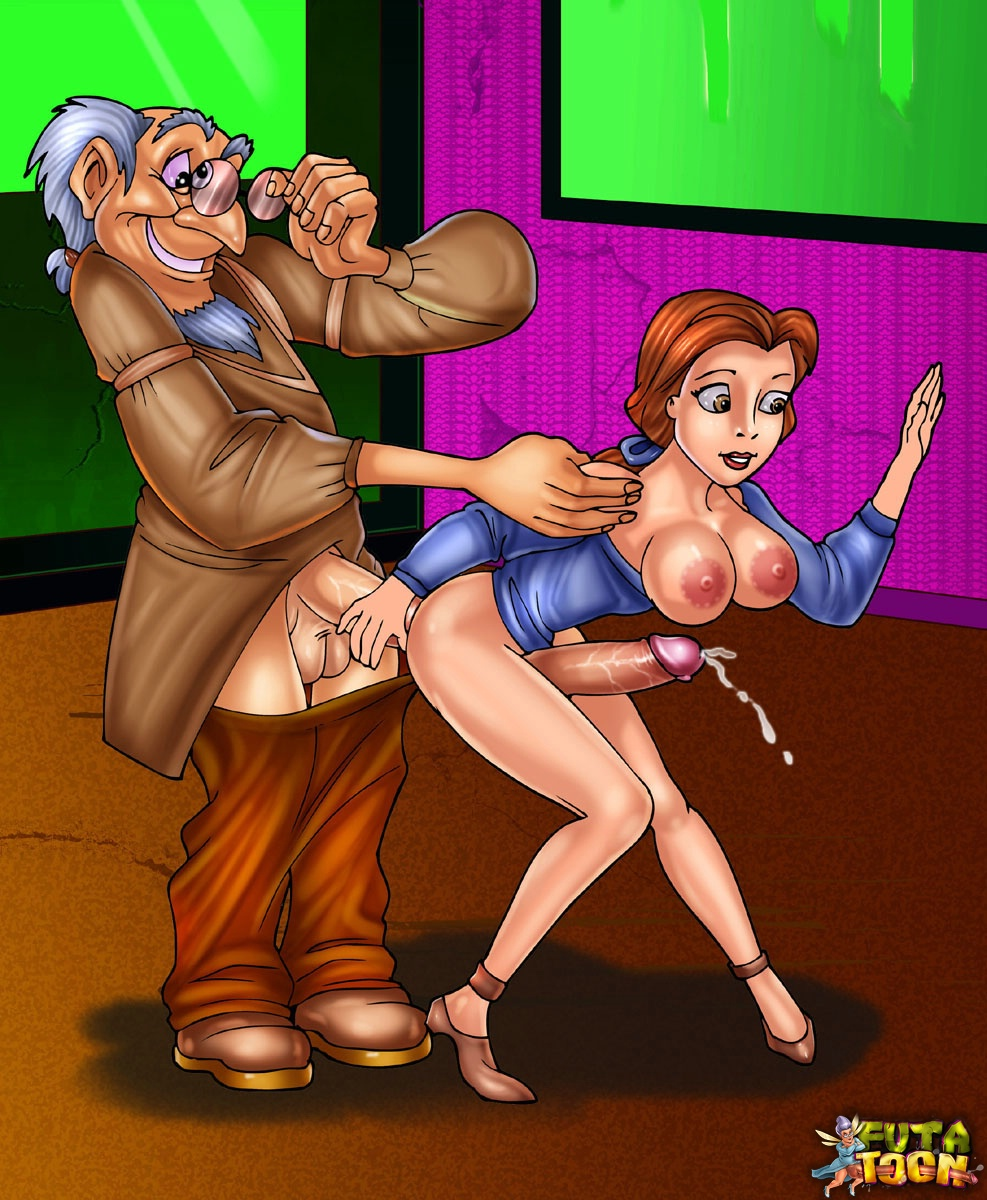 Beauty and the beast porn