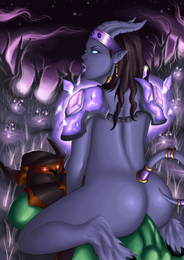 Draenei sex